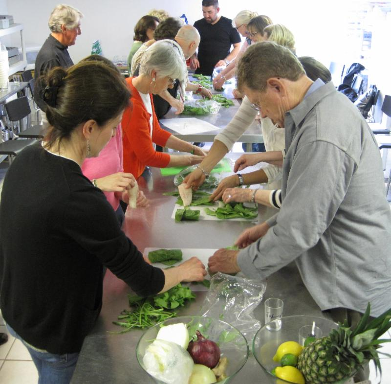 Newport Cooks Cooking Class