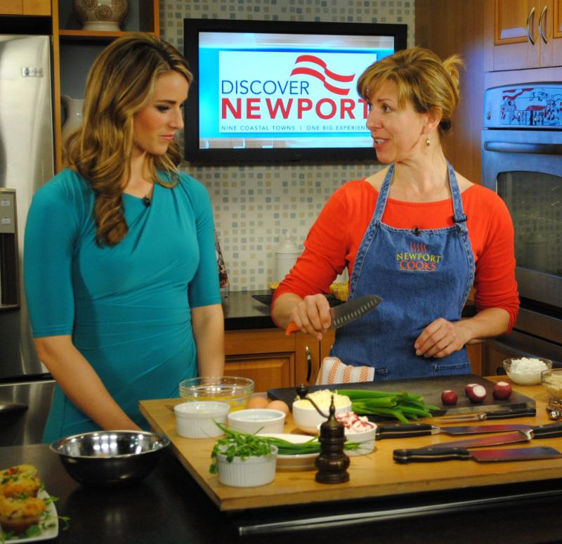 Newport Cooks Mary Weaver on the Rhode Show