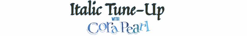 Italic Tuneup with Cora Pearl