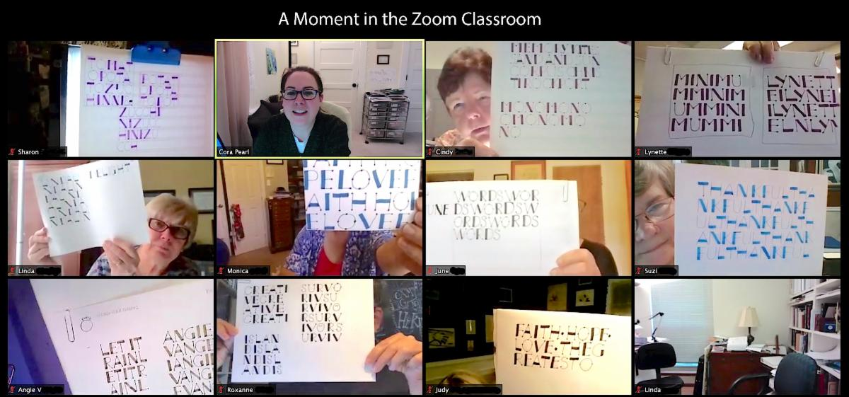 Online Classroom with Cora Pearl