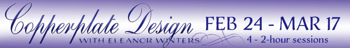 Copperplate Design with Eleanor Winters