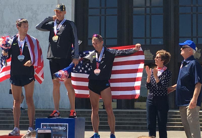 Olympic Team Trials race walk
