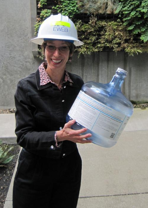 EWEB emergency water bottle