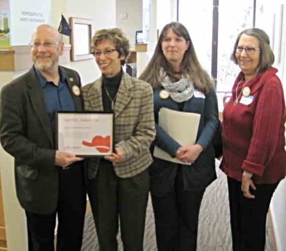 AARP Capitol Caregiver award