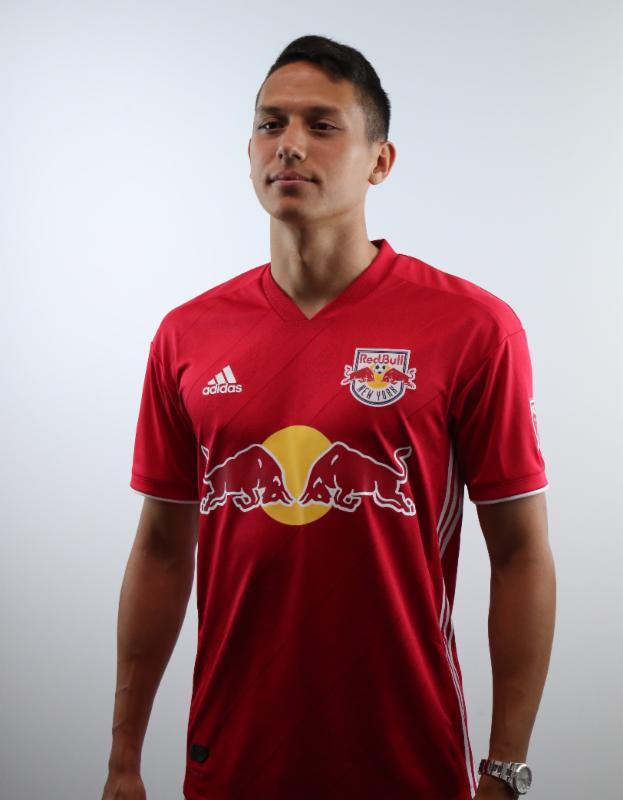 f5c9676d0 New York Red Bulls Unveil New Red Kit