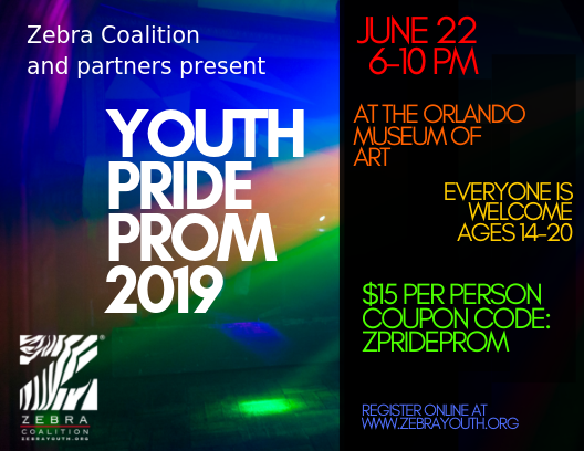 Youth Pride Prom 2019