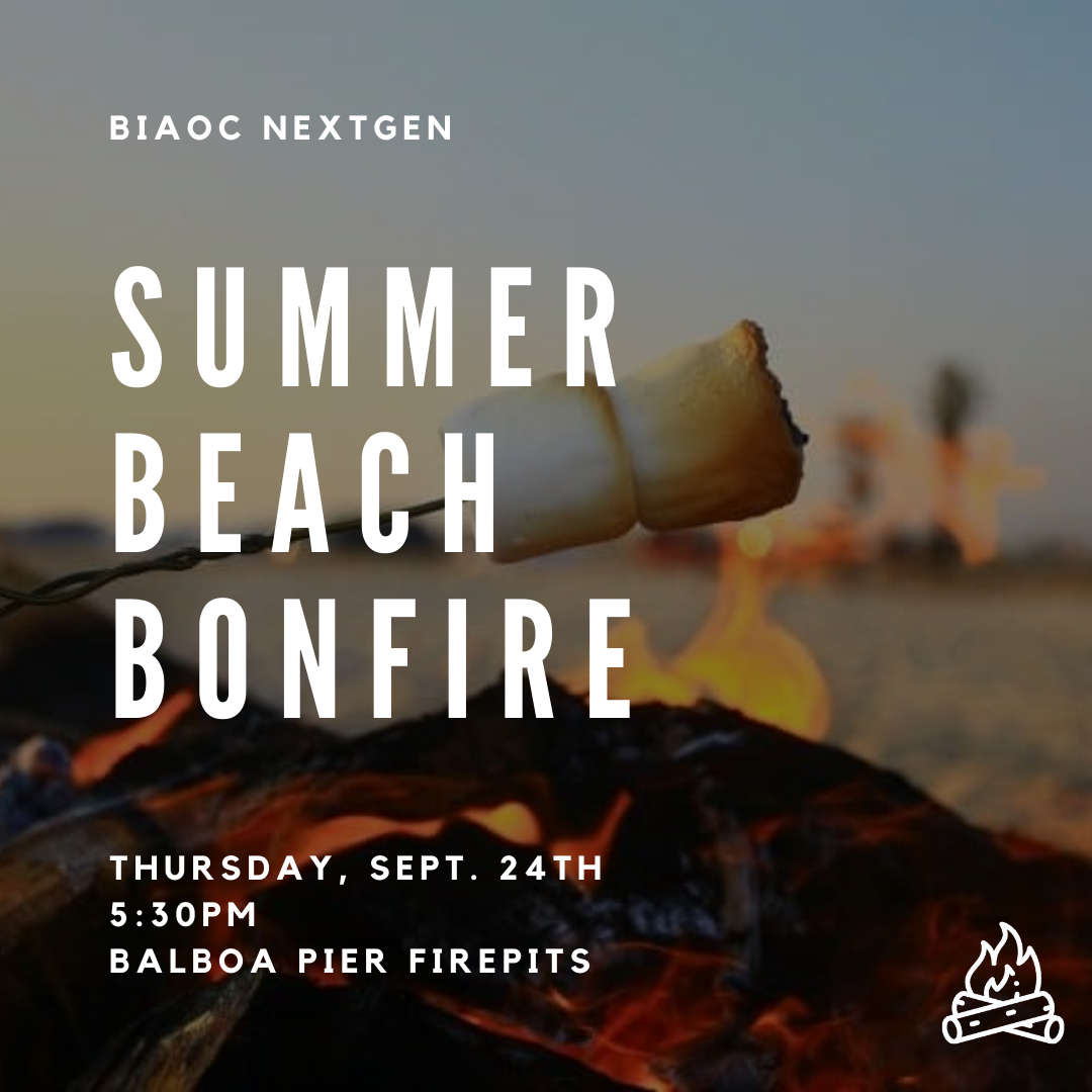 BIAOC Summer Beach Bonfire - Balboa Fire Pits