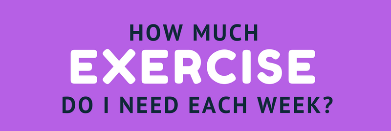 How much exercise do you need each week_