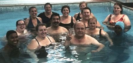 Try an Aqua Fitness Class_