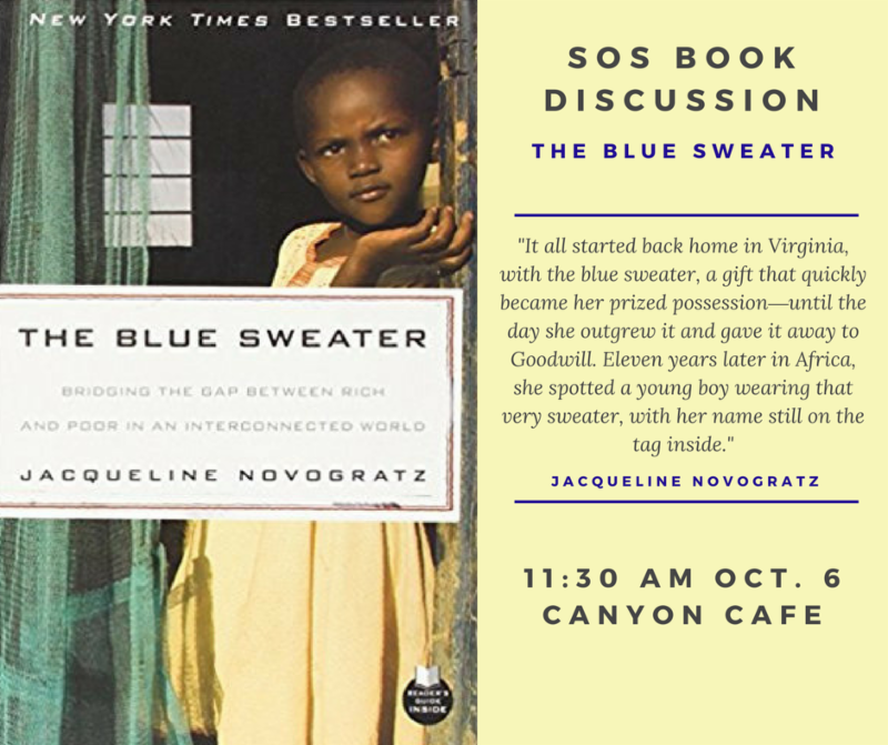 The Blue Sweater Book Discussion