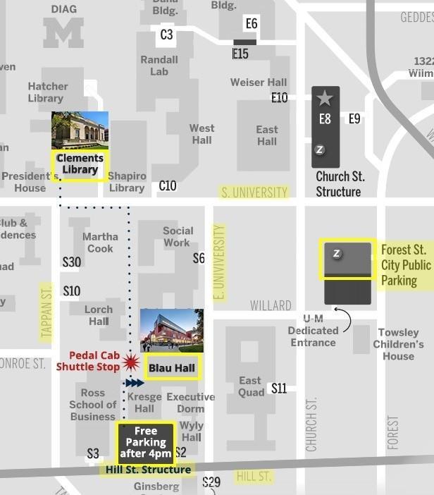 June 11 Locations Map