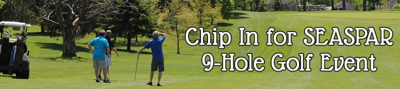 Chip In for SEASPAR 9-Hole Golf Event