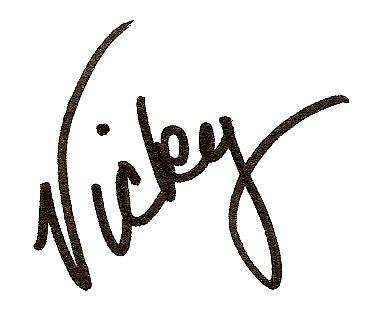 vicky signature