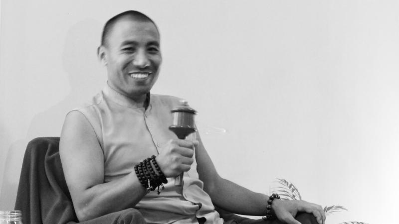 Lama Dorje smile