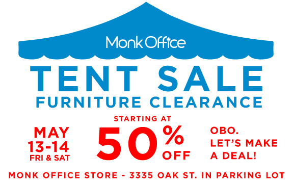 Tent Sale - Everything 50 Percent OFF_