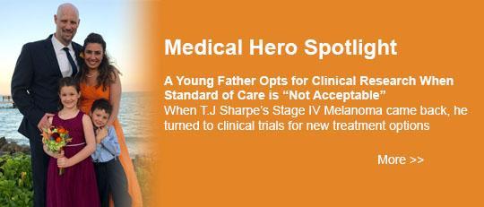 Medical Hero Spotlight: T.J. Sharpe