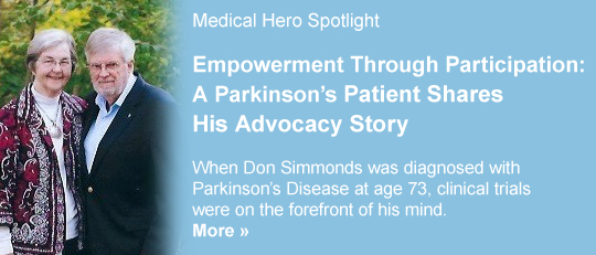Medical Hero Spotlight: Don Simmonds