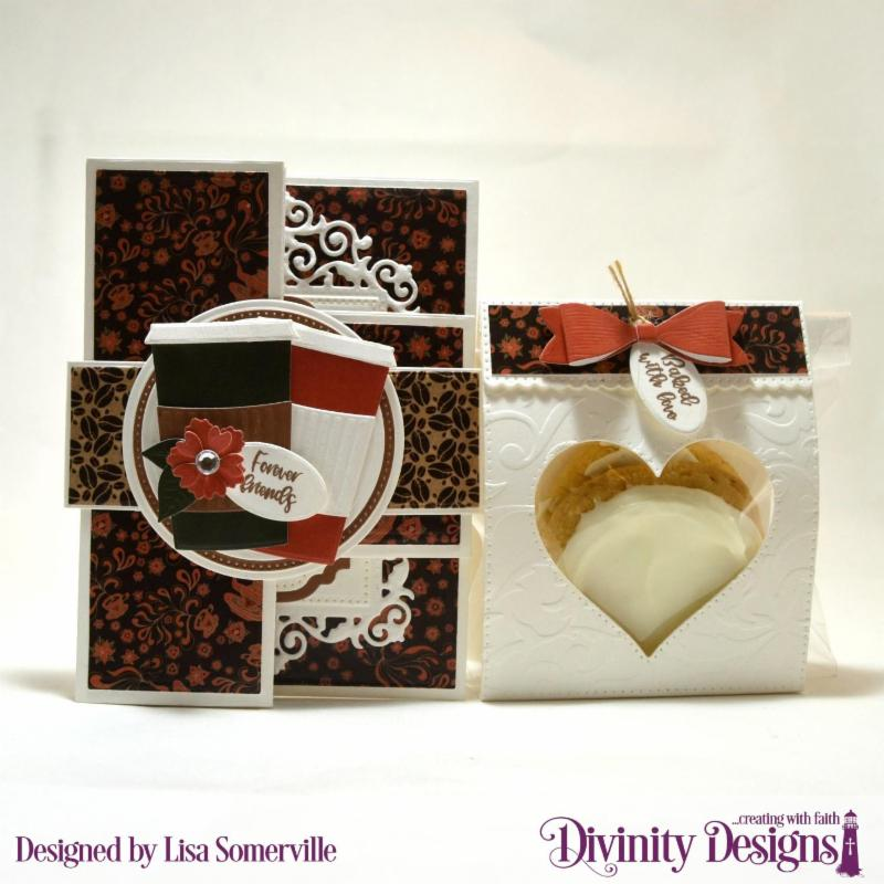 Stamp Set_ Festive Favors Tag Sentiments_ Custom Dies_ Festive Favors_ Paper Collection_ Latte Love_ Embossing Folder_ Flourishes