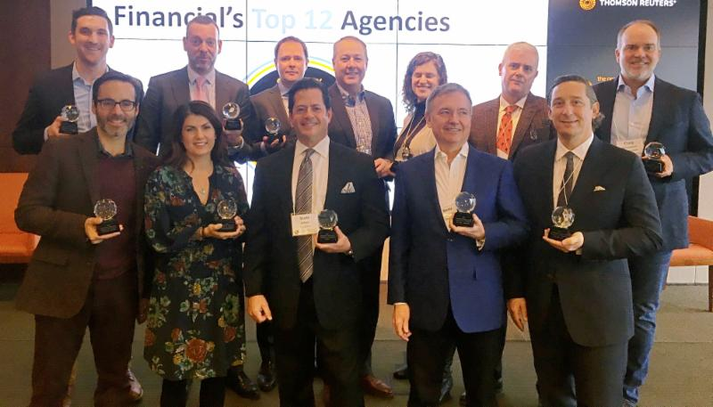 Representatives From Last Year_s Top 12 Agencies