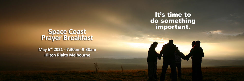 Space Coast Prayer Breakfast Invitation