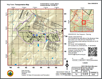 Applying US National Grid for Decision Support in Search and Rescue