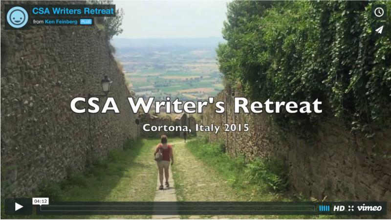 CSA 2016 Writers Retreat Video