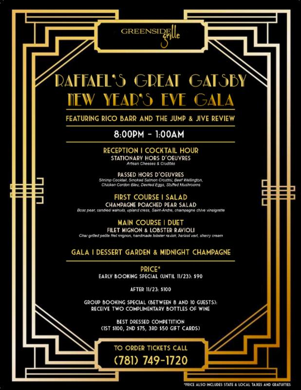 raffaels great gatsby new years gala