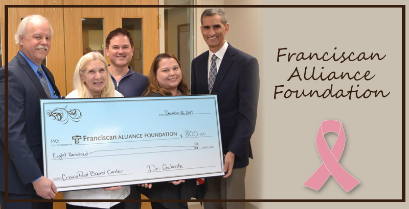 In Support of the Franciscan Alliance Foundation