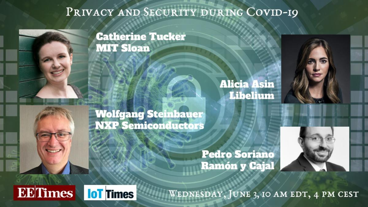 EETimes - Data Privacy and Security During Covid-19