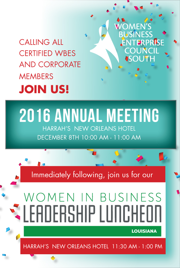 WBEC Annual Meeting and Luncheon