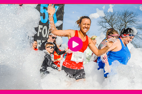 5K Foamfest image video