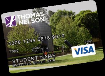 Thomas Nelson VISA Prepaid Card