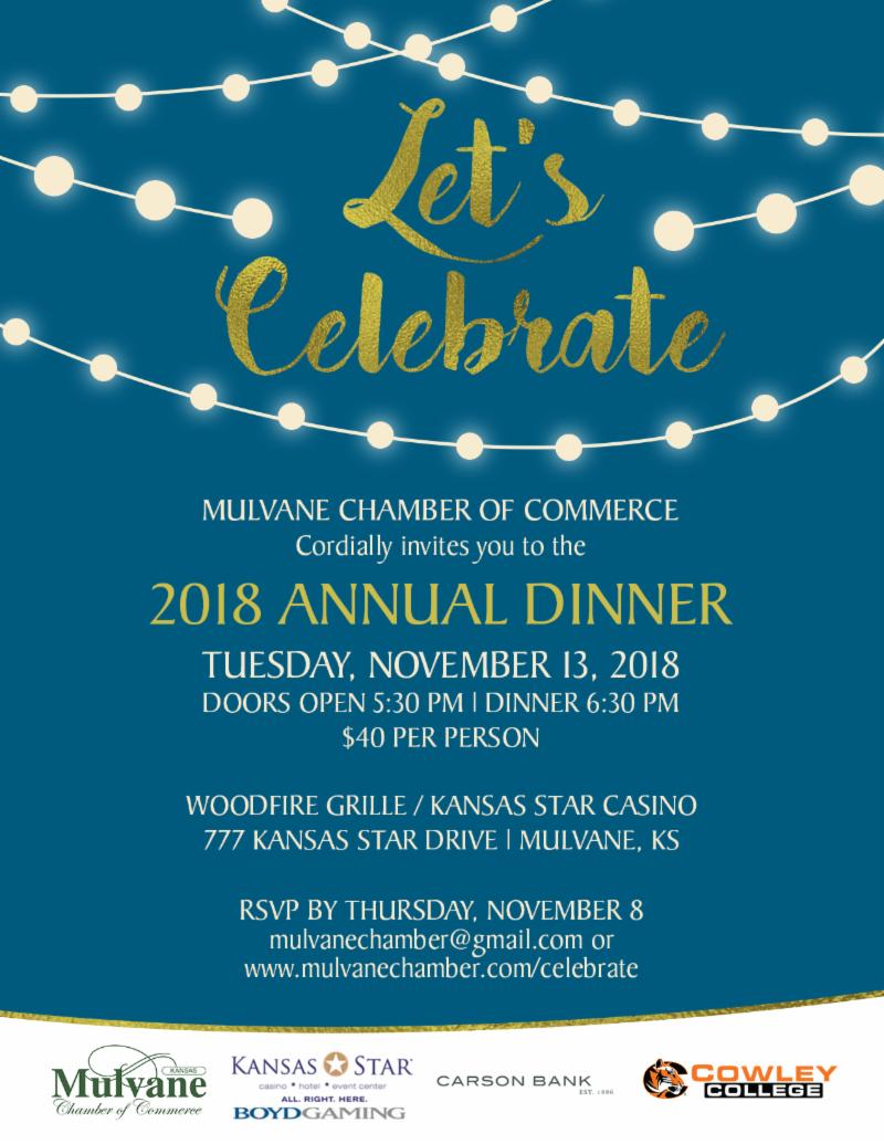 2018 Chamber Annual Dinner