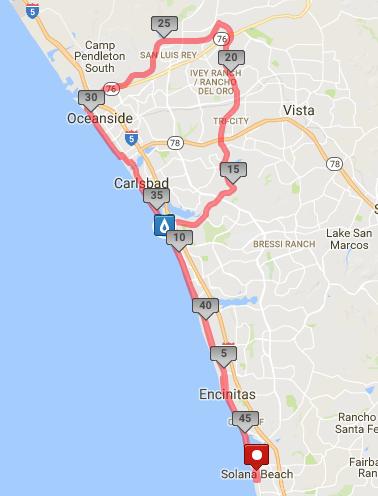 45-mile Course