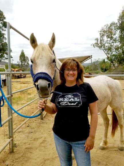 Ginny Jablonski with horse