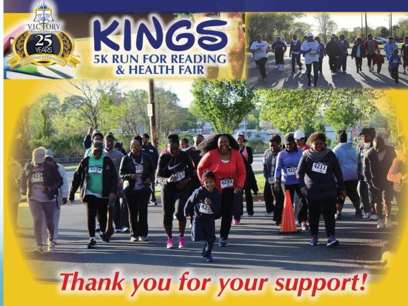 5k Run for reading event
