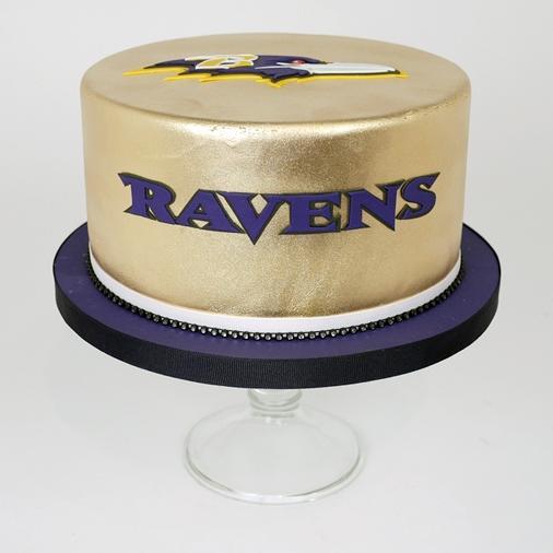 Super Baltimore Ravens Cake 11 12 16 Personalised Birthday Cards Akebfashionlily Jamesorg