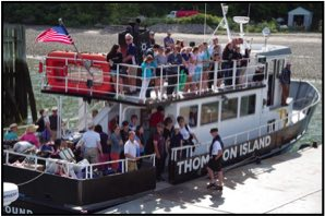 Thompson Island ferry