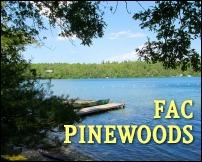 Long Pond boat dock at FAC Pinewoods