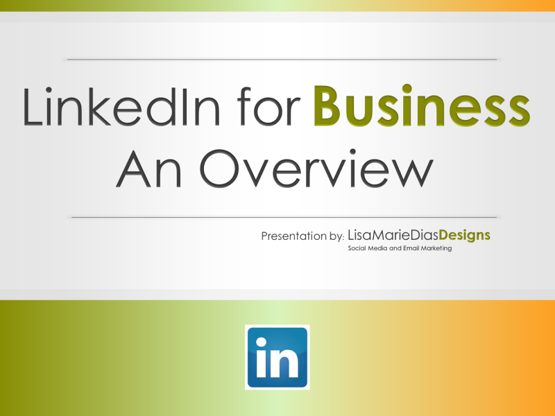 LinkedIn for Business - Overview