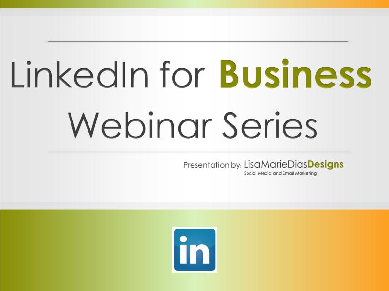 LinkedIn for Business - Webinar Series