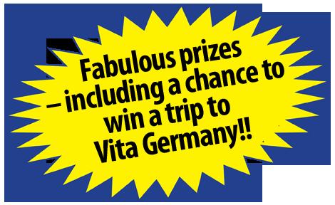 Fabulous prizes