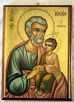 St Joseph Icon