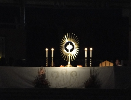 Adoration at St. James Medjugorje 2010