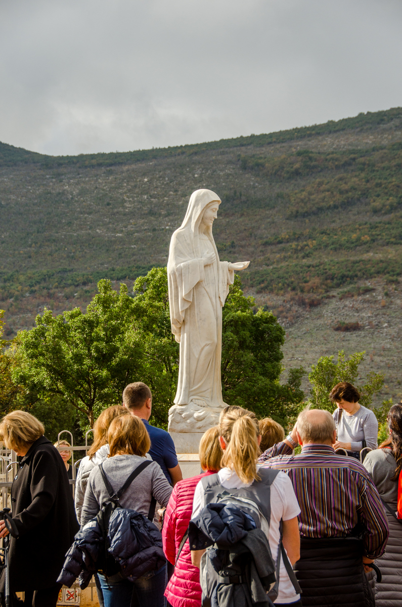 Image result for Photos of Our Lady at Medjugorje