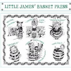 Little James Basket Press, Blanc