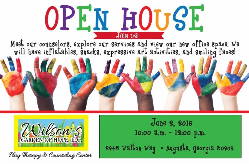 wilsons garden of hope llc play therapy counseling center event - Wilsons Garden Center