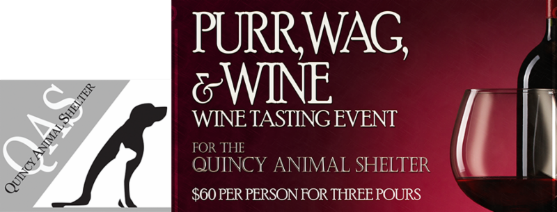 Quincy Animal Shelter's 2018 Purr, Wag, & Wine event