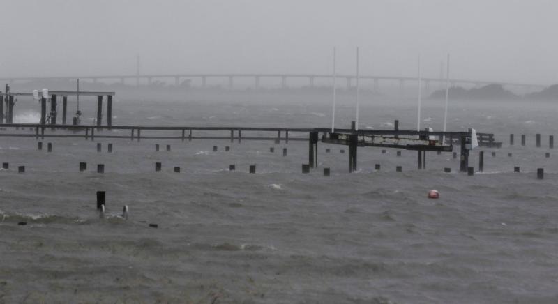 Florence Impacting Emerald Isle Update 7 Thursday