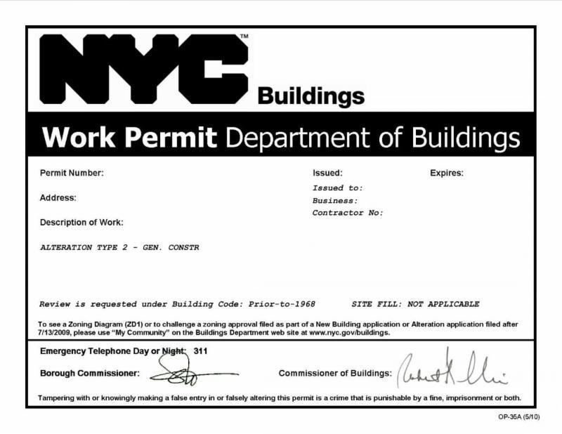 DOB Work Permits Whats needed Sullivan Engineering LLC – Site Safety Plan Nyc Dob